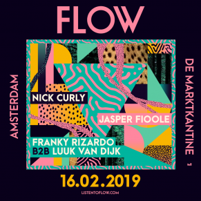 16/02 FLOW at De Marktkantine