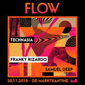 30/11 FLOW at De Marktkantine, Amsterdam